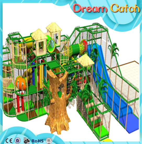 China Indoor Play Structure Lala Forest Series Kids Jungle Gym ...