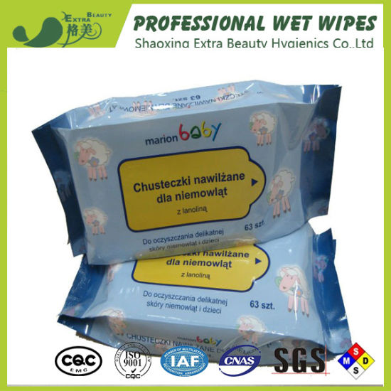 Antibacterical Baby Wipes for Baby Skin Care pictures & photos