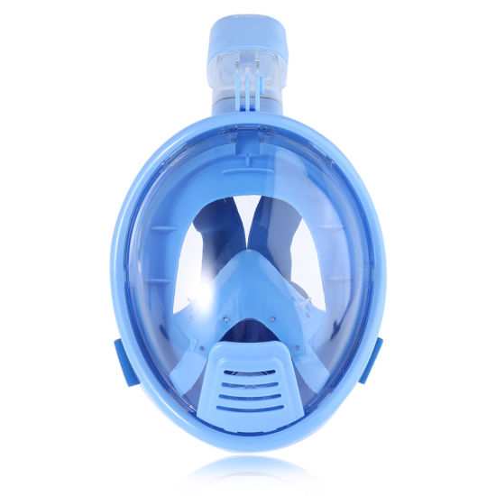 Blue Kids Xs Full Face Snorkel Mask with Gopro Camera Mount OEM Custom-Made pictures & photos