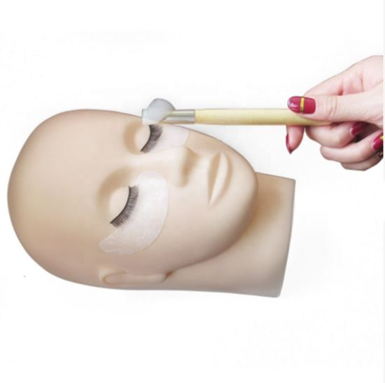 Silicone Flat Make up Mannequin Head for Eyelash Lash Eyebrow Training Practice pictures & photos
