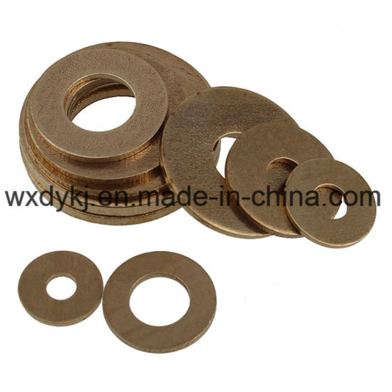Good Quality DIN125 Brass Plain Washer