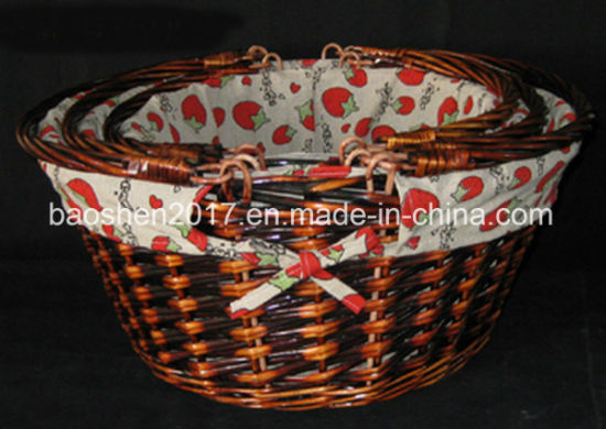 Wholesale Willow Gift Basket pictures & photos