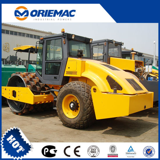 Oriemac 18 Ton Mechanical Single Drum Road Roller Xs182j pictures & photos