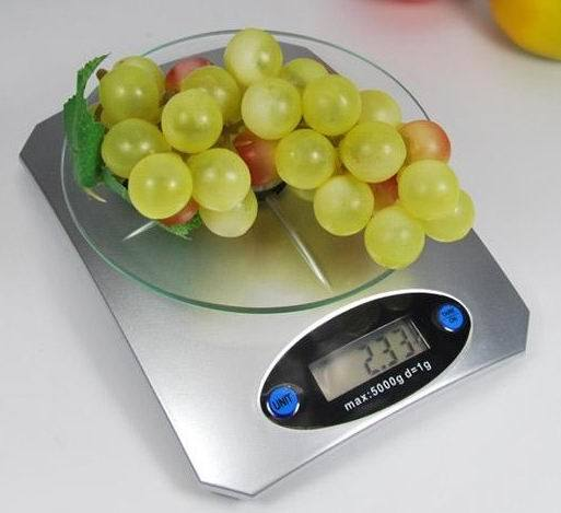 Digital Dial Kitchen Scale Zzsp-901 G