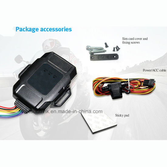 China Waterproof GPS/GSM/GPRS Tracking System with Multi