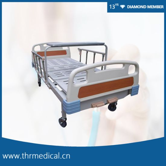 2 Crank Medical Manual Bed with Dining Table (THR-MB220)
