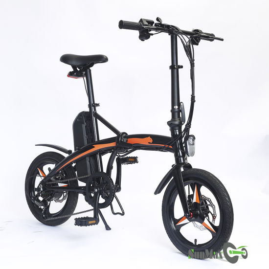 Special Aviation Aluminum Alloy Frame E Bicycles with 250W Motor
