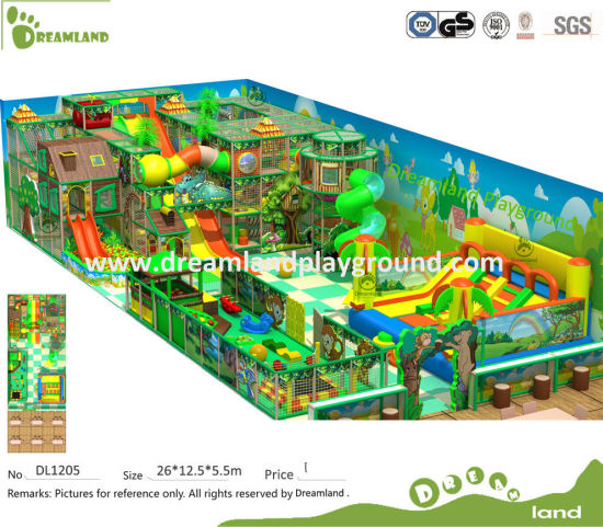 2017 Commercial Kids Customized Jungle Theme Indoor Playground for Sale pictures & photos