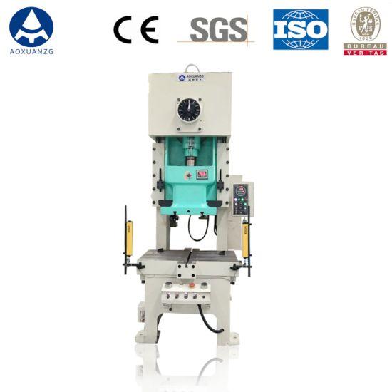 Professional Manufacturer Jh21-63 Sheet Metal Punching Machine Pneumatic Power Press