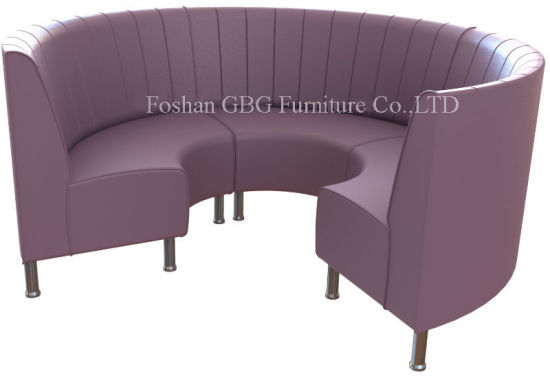 Genial Modern Restaurant Circular Booth Seating (9099)
