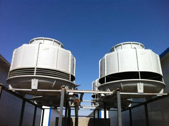 FRP Round Water Cooling Tower for Plastic Industry pictures & photos