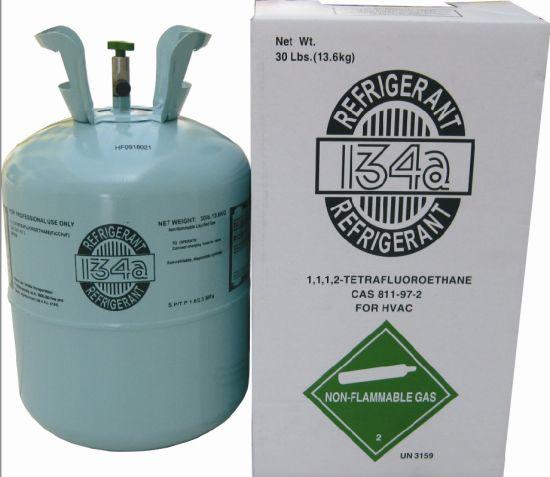 Hig Pure R134A Refrigerant 136. Kgs for Refrigerator Air Conditioner
