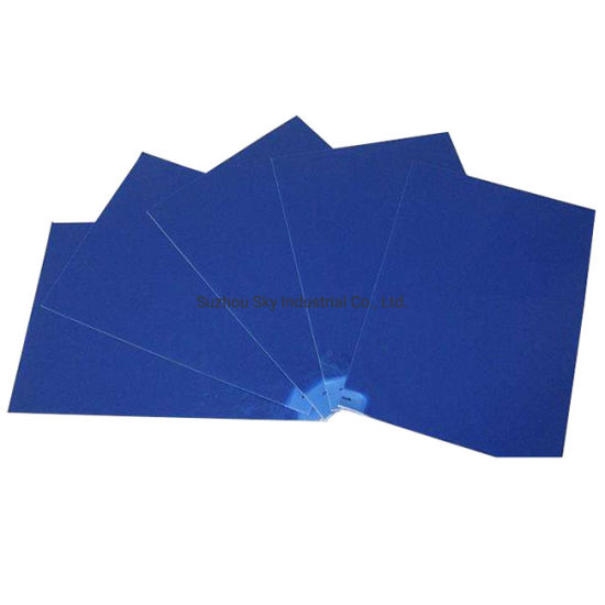 Cleanroom Peelable Blue Sticky Mats 30 Sheets