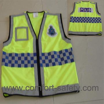 Different Color Reflective Safety Vest High Visibility Reflective Safety Vest