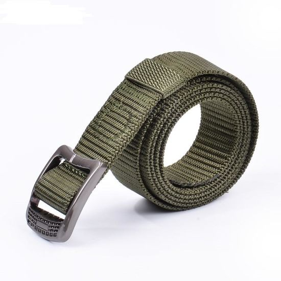 Imilation Nylon Web Alloy Buckle Outdoor Climbing Belt (RS-17004)