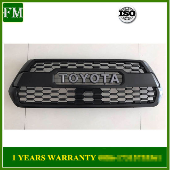 Genuine OEM New 2016-2018 Black Grille for Toyota Tacoma