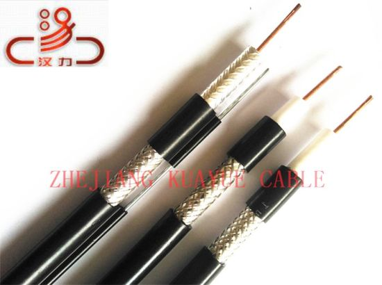 RG6 Coaxial Cable 4 Shielding /Computer Cable/ Data Cable/ Communication Cable/ Connector/ Audio Cable/Hanli Cable