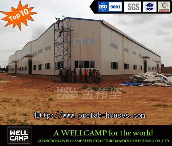 Metal Structural Framework Prefabricated Light Steel Structure House