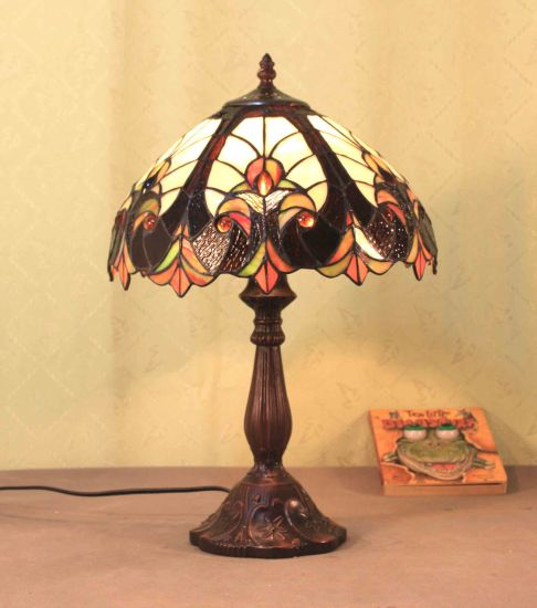 Art Tiffany Table Lamp 748