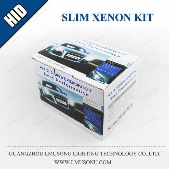 H1 H3 H7 H11 H15 9005 9006 Slim HID Kit 12V 35W