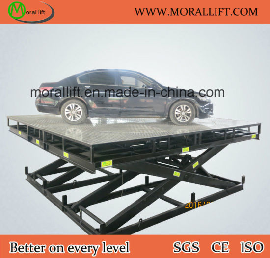 Rotating Parking Equipment Car Lift with Turntable pictures & photos