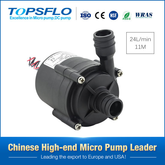 Long Lifetime High Pressure 12V or 24V DC Brushless Circulation Mini Water Pumps Electric Water Heater Pump Small Booster Water Pump