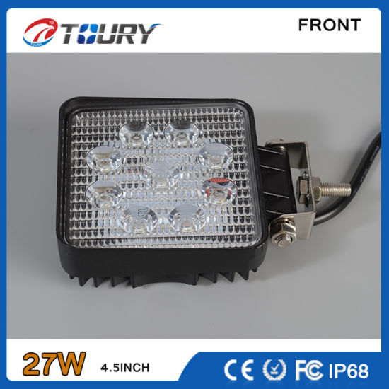 CREE LED Driving Head 27W 4.5inch Offroad 4WD Work Light pictures & photos