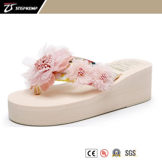 High Quality Summer Sandal for Fashion Women Soft EVA Slide Slipper Flip Flops Flower Slipper 205029