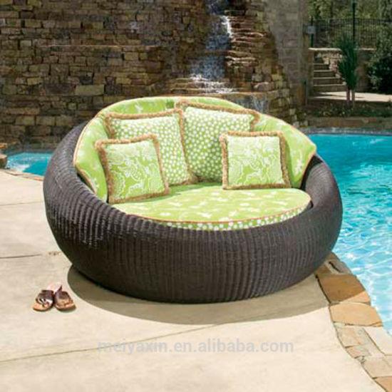 Outdoor Garden Furniture Rattan Daybed