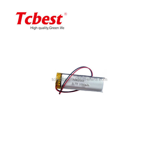 Hight Quality 3.7V Li-Po 802060 1000mAh Drone Lithium Polymer Battery for E-Bike/ Golf Cart with Ntc/ Helicopter Quadcopter