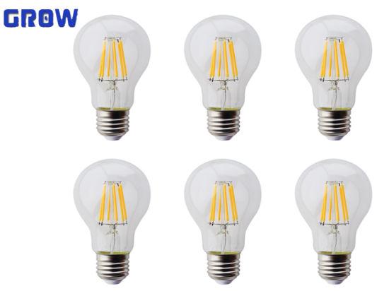 A60 10W New Energy Saving Decorative LED Filament Bulb Light
