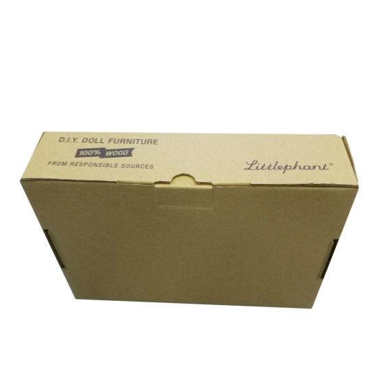 Custom Recyclable Folding Carton Boxes Brown Kraft Paper Box
