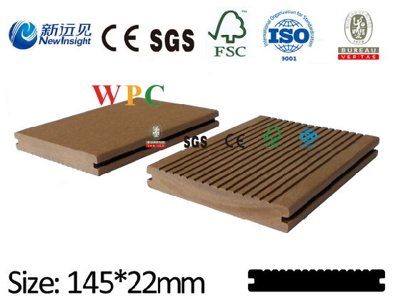WPC Waterproof Outdoor Flooring with CE SGS