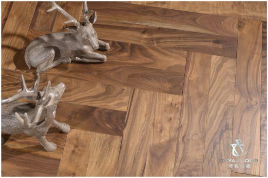 China Walnut Engineered Wood Flooring