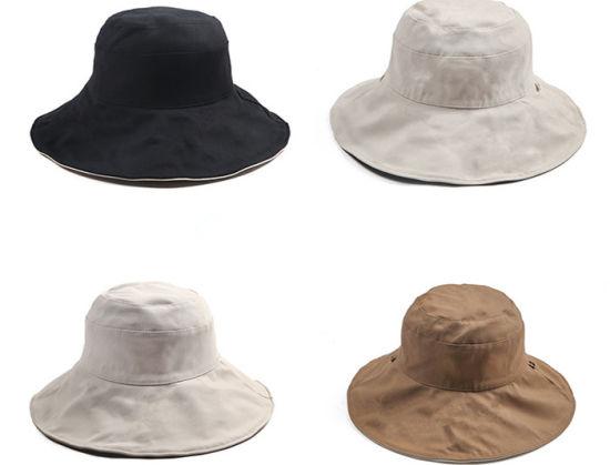 Large Brim Korean Ladies Sun Visor Sunscreen Hat Summer Fisherman Hat