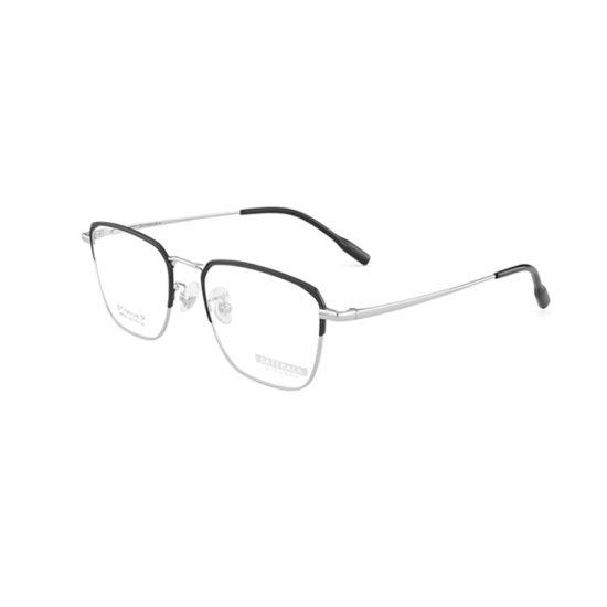 2019 Ready Stock New Arrival Fashion Square Titanium Optical Frame
