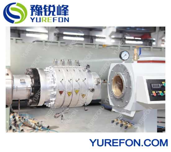 Plastic Tube Extruder Four Pipe out PVC Conduit Pipe Extruder pictures & photos