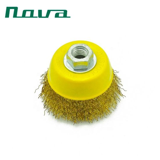 3 Inch Wire Cup Brush Wheel for Remove Rust