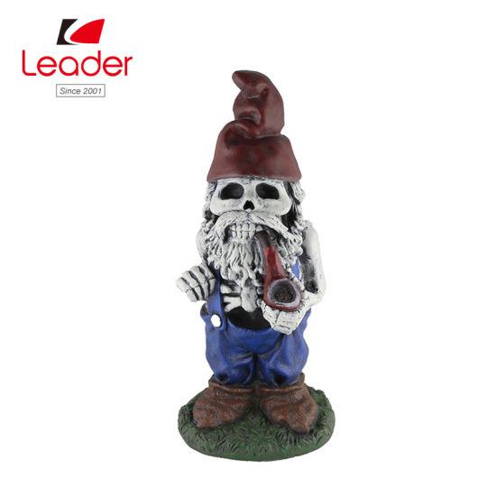 Polyresin Scary Garden Gnome Statue