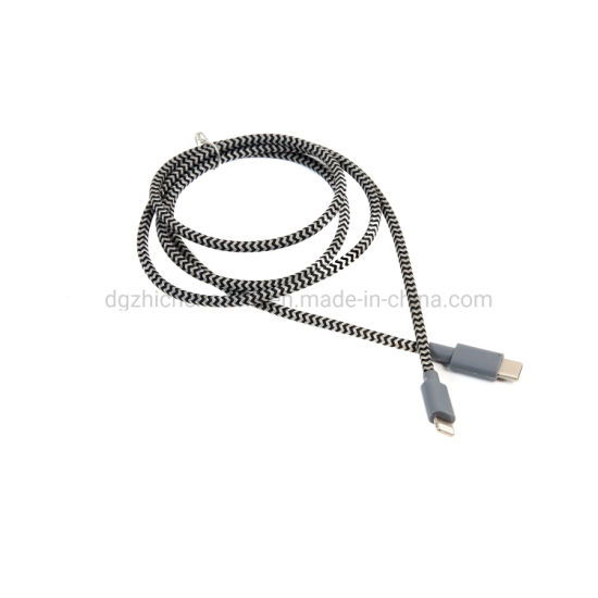 Type-C to Micro & 8p Data Cable Connect Wire Lightning Cable