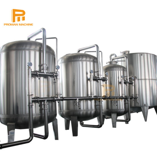 3000L/H RO Plant Water Treatment for Bottle Pure Water Production
