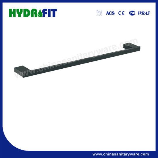 S. S304 Good Quality Black Towel Shelf (BAS3498B)
