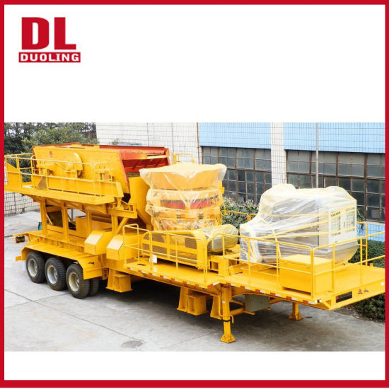 Duoling Stone Mining Mobile Jaw/Cone/Impact/VSI Crusher Machine