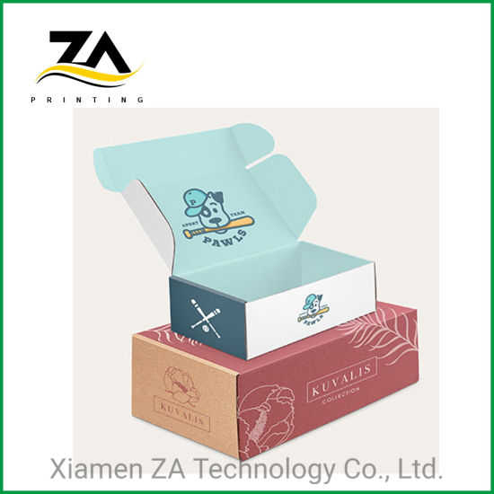 Custom Color Printed E Flute Corrugated Box for Packaging
