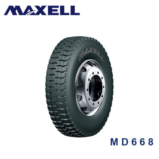 All Steel Radial Truck Tire for 295/80r22.5 Long Haul, Offroad Maxell Brand