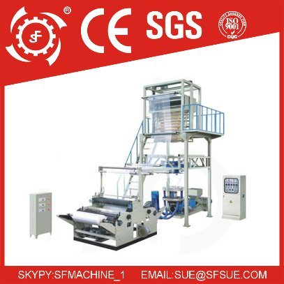HDPE LDPE ABA Polyethylene Biodegradable Polythene Plastic Mini Film Blowing Machine