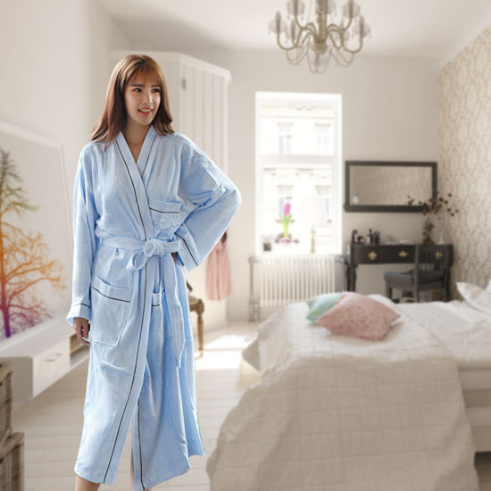 Hotel / Home Cotton / Velvet Bathrobes / Pajama / Nightwear / Sleepwear