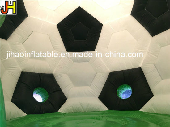 Exciting Inflatable Sport Games Football Bouncy Jumping Castles pictures & photos