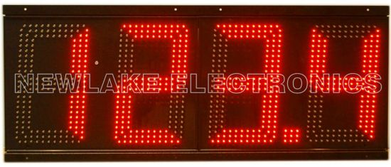 Hot Sell 12inch Gas Station LED Gas Price Board (IP67 for all weathers)