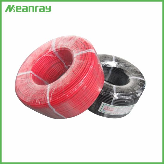 Tin Plated Copper Solar Energy Cable Two Core DC Cable